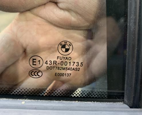 OEM BMW window