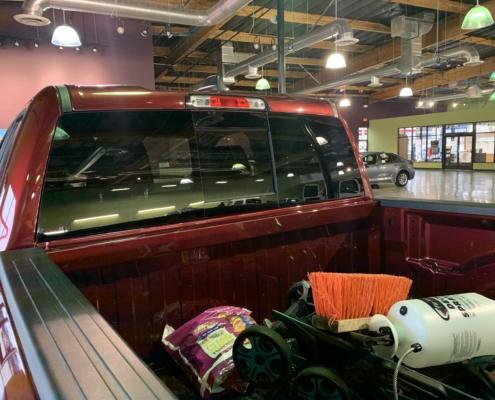 new rear sliding window