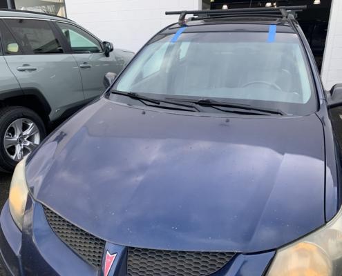 new pontiac windshield